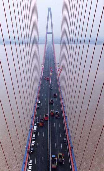 武汉白沙洲大桥